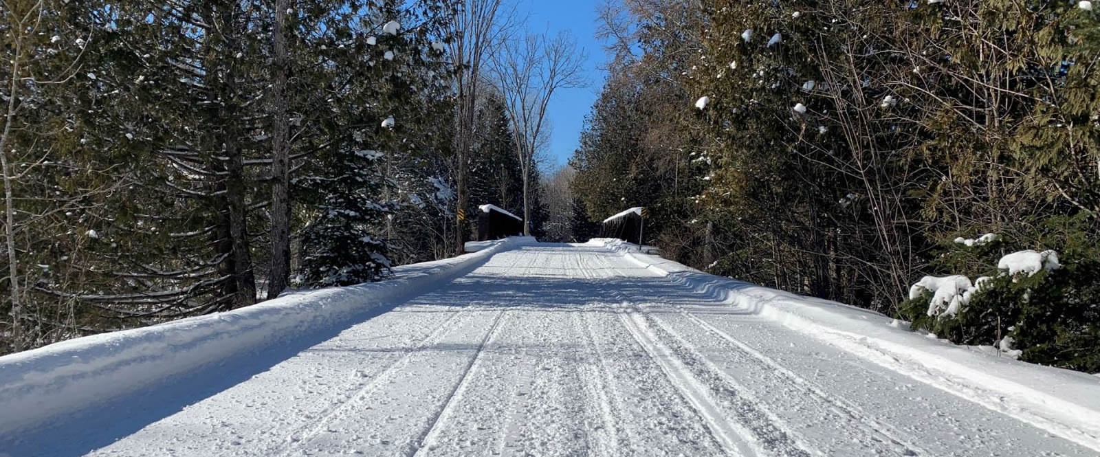 Heritage trail after the groomer went by